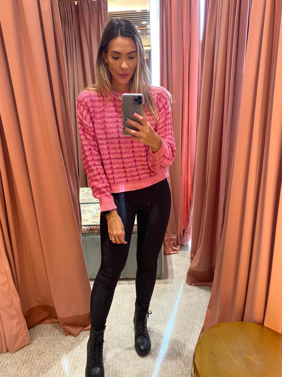 Tricô Pink - Esmeral