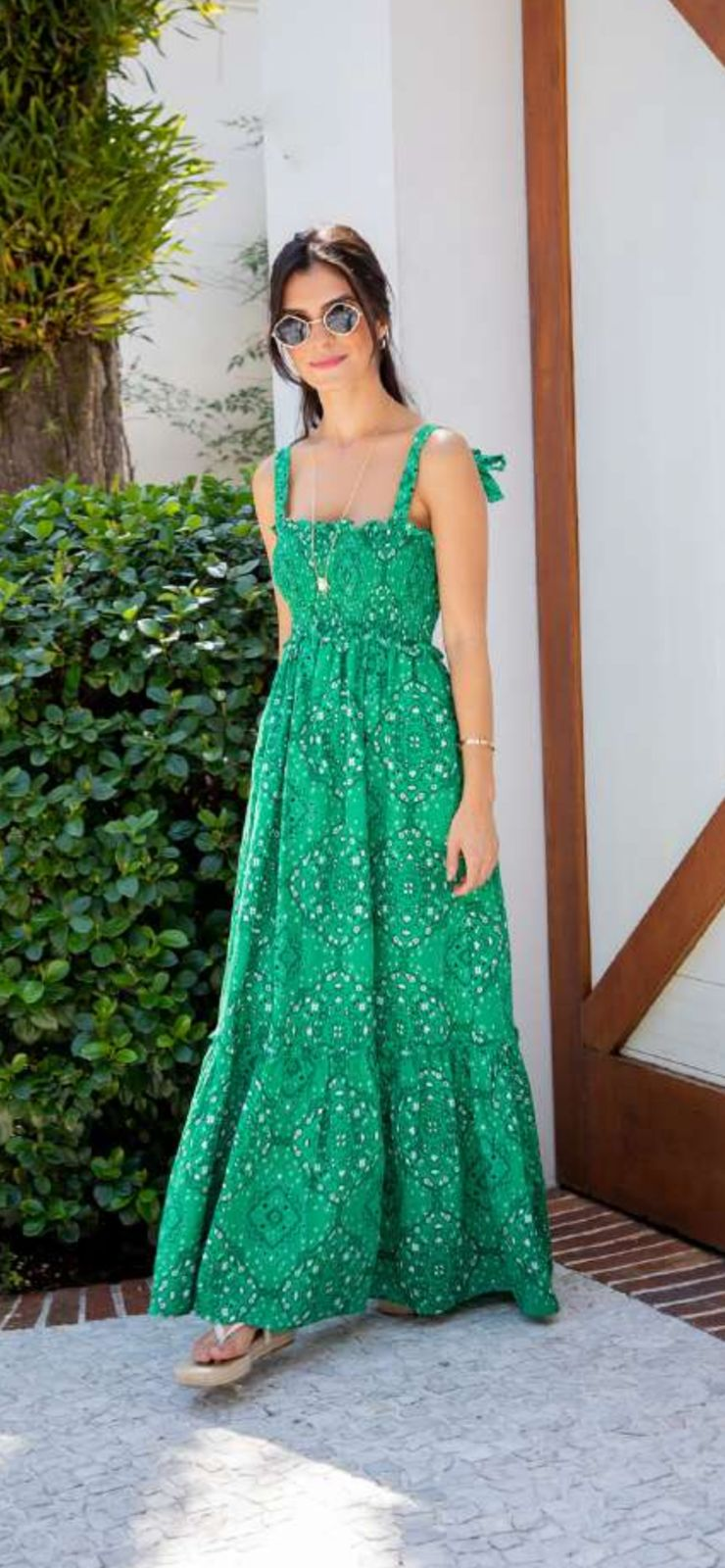Vestido Paisley Longo - ESMERAL