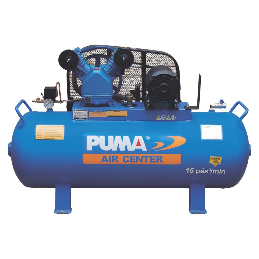 Compressor de Ar 15 Pés 3 CV 150 Litros Puma