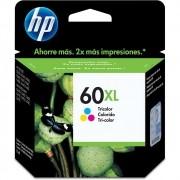 Cartucho HP 60XL Colorido Original