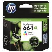 Cartucho HP 664XL Colorido Original