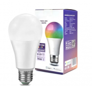 Smart Lampada Inteligente RGB Ekaza Wifi 10w Led Google Home / Alexa