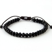 PULSEIRA EXCLUSIVA MURANO FACETADO 6MM - BLACK FRIDAY