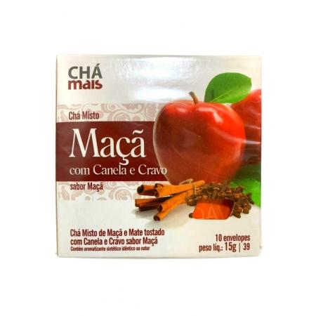 CHA MAIS CHA DE MACA COM CRAVO E CANELA 10P
