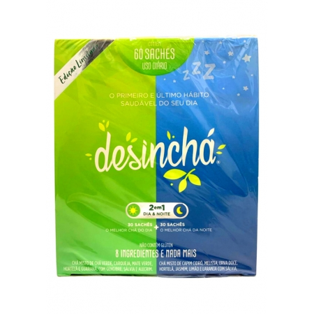 DESINCHA CHA DP C/60 SACHES DIA E NOITE
