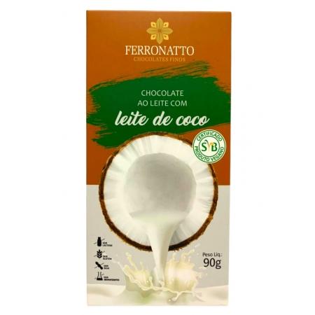 FERRONATTO CHOC AO LEITE DE COCO 90g