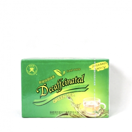 FUJIAN GREEN TEA DECAFFEINATES 2g X 20 BGAS 40g GT906