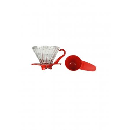 HARIO COADOR CAFE V60 01 VDG-01 RED