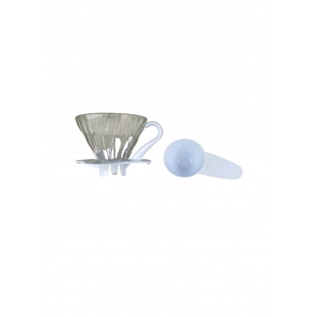 HARIO COADOR CAFE V60 01 VDG-01 WHITE