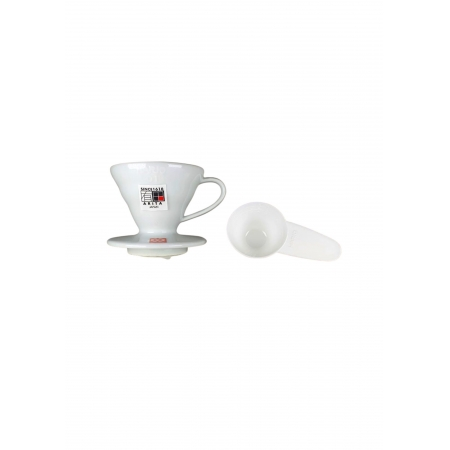 HARIO COADOR DE CAFE V60 01 VDC-01 WHITE