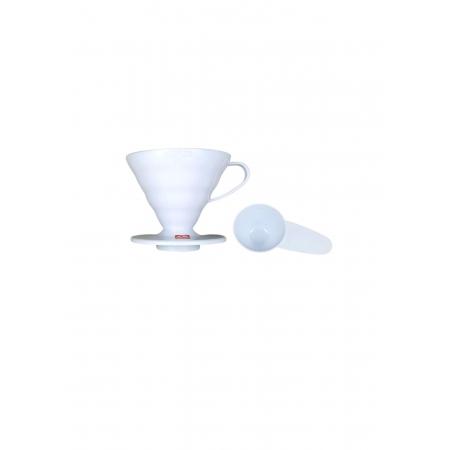 HARIO COADOR DE CAFE V60 02 VD-02 WHITE