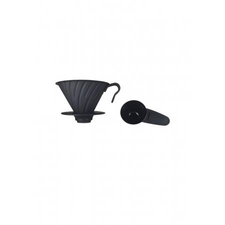 HARIO COADOR DE CAFE V60 02 VDM-02 BLACK