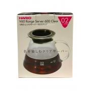 HARIO JARRA DE VIDRO CLEAR 600ml XGS-60
