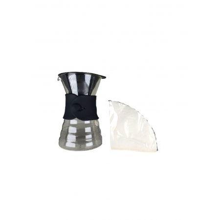 HARIO KIT COADOR CAFE V60 700ml VDD-02 BLACK