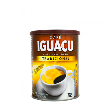 IGUACU CAFE SOLUVEL 200g LATA