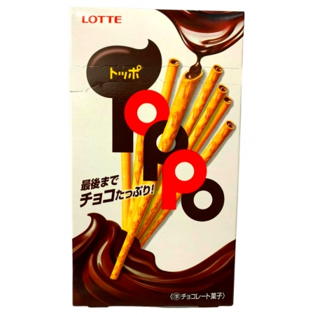 LOTTE TOPPO CHOCOLATE 78g