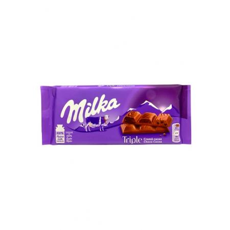 MILKA CHOCOLATE 90g TRIPLE CHOCO KAKAO