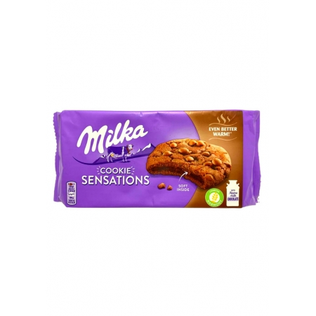MILKA COOKIES SENSATIONS SOFT CHOCOLATE 156g