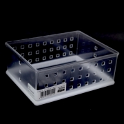 NAKAYA CESTA ACRILICO RETANGULAR V-182-1 157x120x61 MM