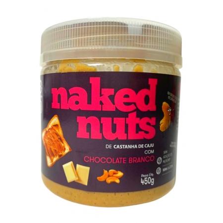NAKED NUTS PASTA CASTANHA DE CAJU C/CHOCOLATE BRANCO 450g