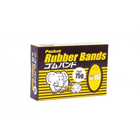 POCKET RUBBER BANDS ELASTICO PARA PRENDER No 16 75g