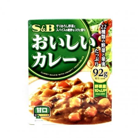 S E B NATTOKU OISHII CURRY AMAKUCHI 180g