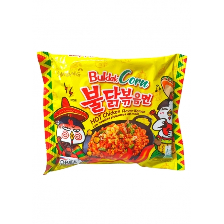 SAMYANG HOT CHICKEN RAMEN CORN 130g