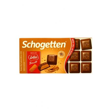 SCHOGETTEN CHOCOLATE LOTUS BISCOFF 100g