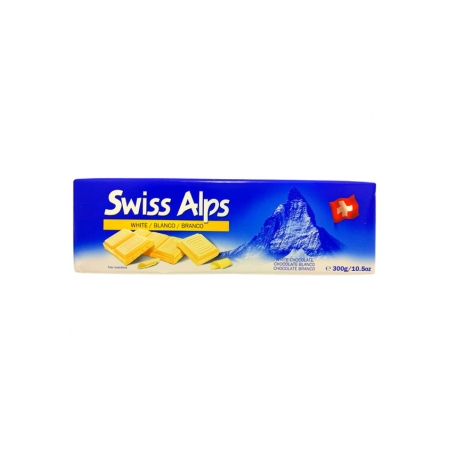 SWISS ALPS CHOCOLATE BRANCO 300g