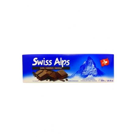 SWISS ALPS CHOCOLATE DARK 300g