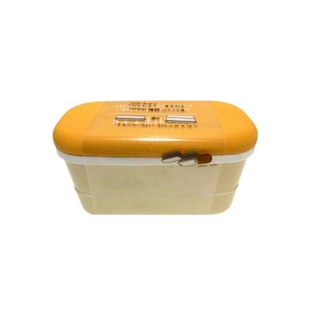 YAMADA LUNCH BOX WOODY 2 STAIR LBC