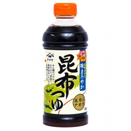 YAMASA KOMBU TSUYU SANBAI 500ml