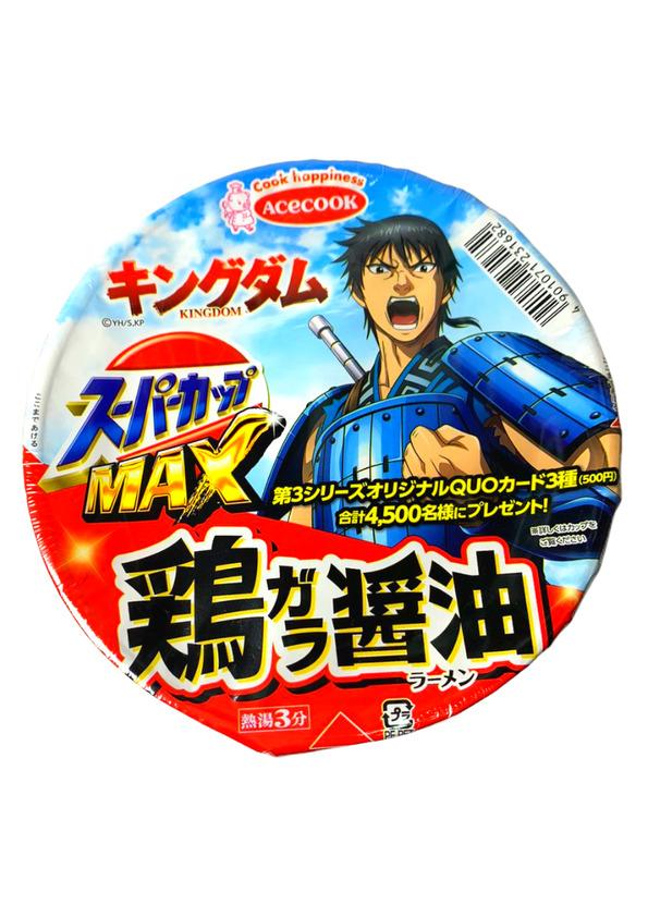 ACE CUP MAX SHOYU LAMEN 119g