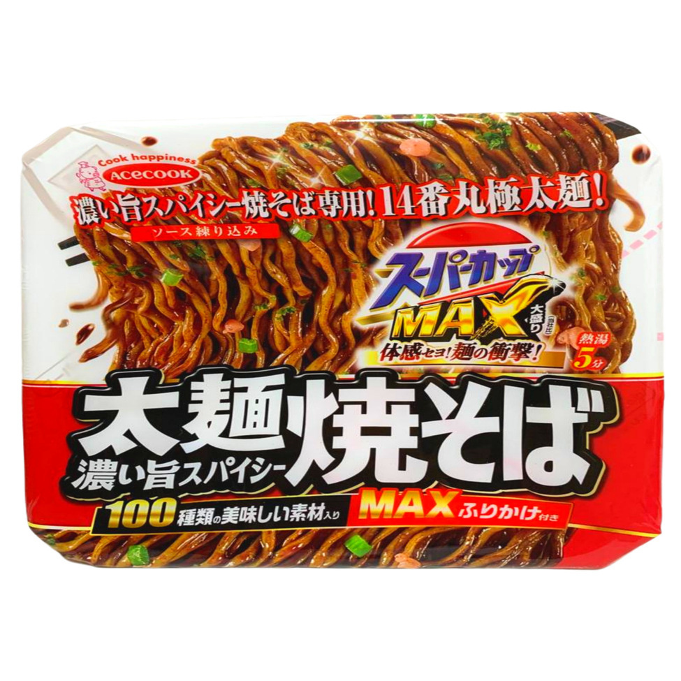 ACE CUP MAX YAKISOBA SPICY SAUCE 176g