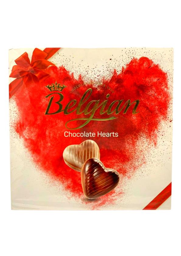 BELGIAN CHOCOLATE HEARTS 200g