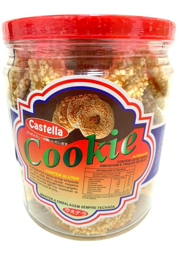 CASTELLA COOKIES GERGELIM 250g