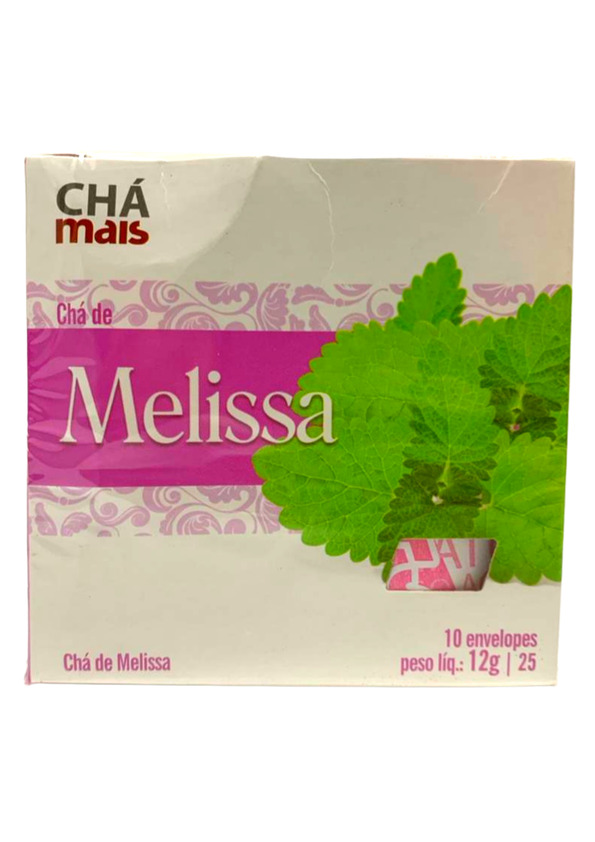 CHA MAIS MELISSA 10P 12g