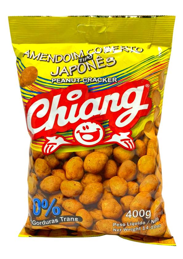 CHIANG AMENDOIM JAPONES 400g