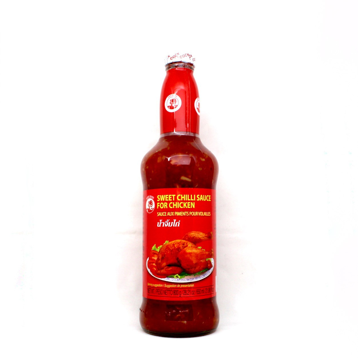 COCK CHILLI SWEET CHILLI SAUCE FOR CHICKEN 800g