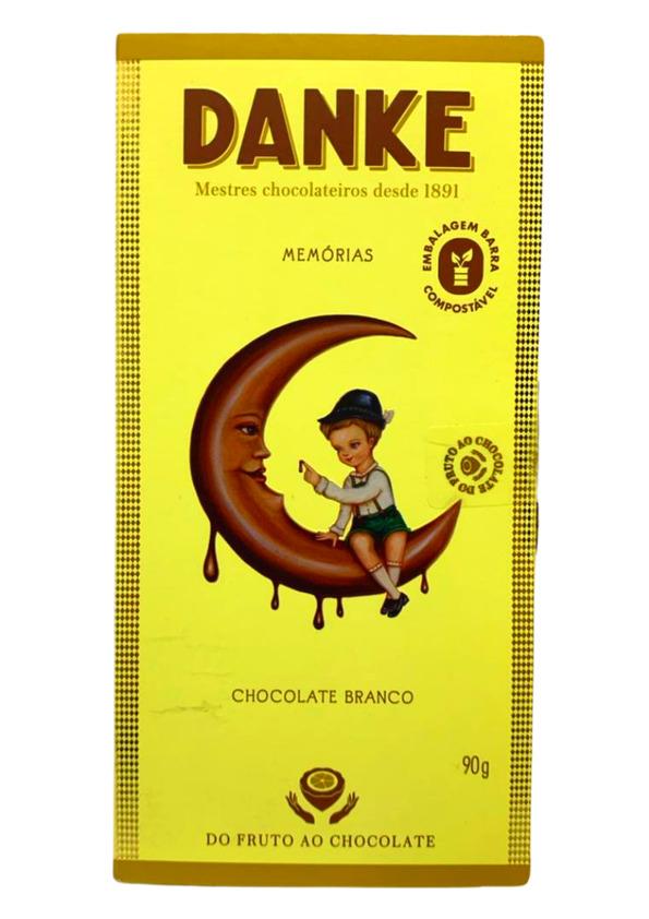 DANKE BARRA CHOC BRANCO 90g