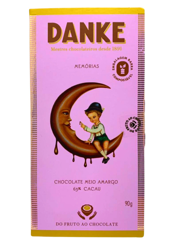 DANKE BARRA CHOC DARK  63% 90g