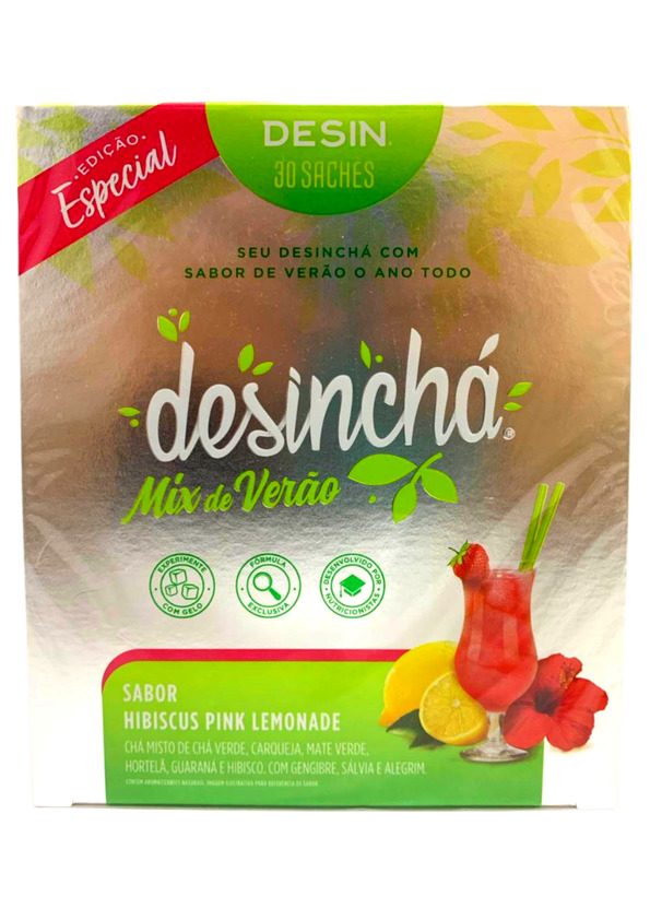 DESINCHA MIX DE VERAO HIBISCUS PINK  DP C/30 SACHES