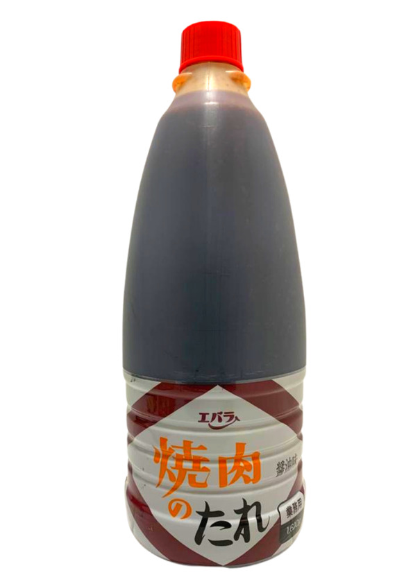 EBARA YAKINIKU TARE SHOYU 1.600kg (VENCIMENTO 26/07/2021)