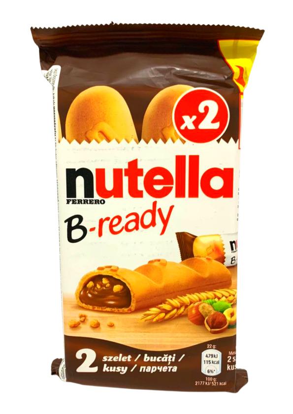 FERRERO CHOCOLATE NUTELLA B-READY 2 UNID. 44g