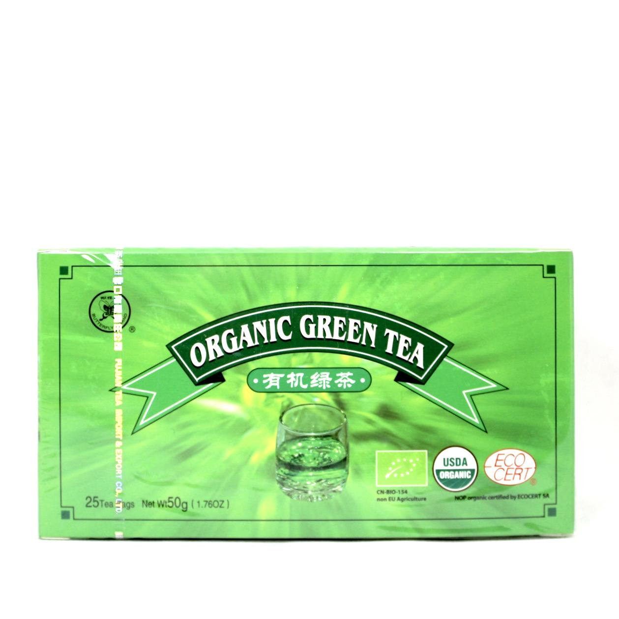 FUJIAN GREEN TEA 2g X 25 SACHET GT707 (VENCIMENTO 31/10/2021)
