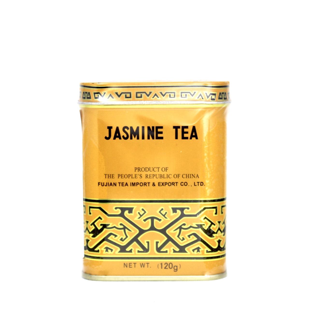 FUJIAN JASMINE TEA 120g LATA 1030 (VENCIMENTO 31/10/2021)