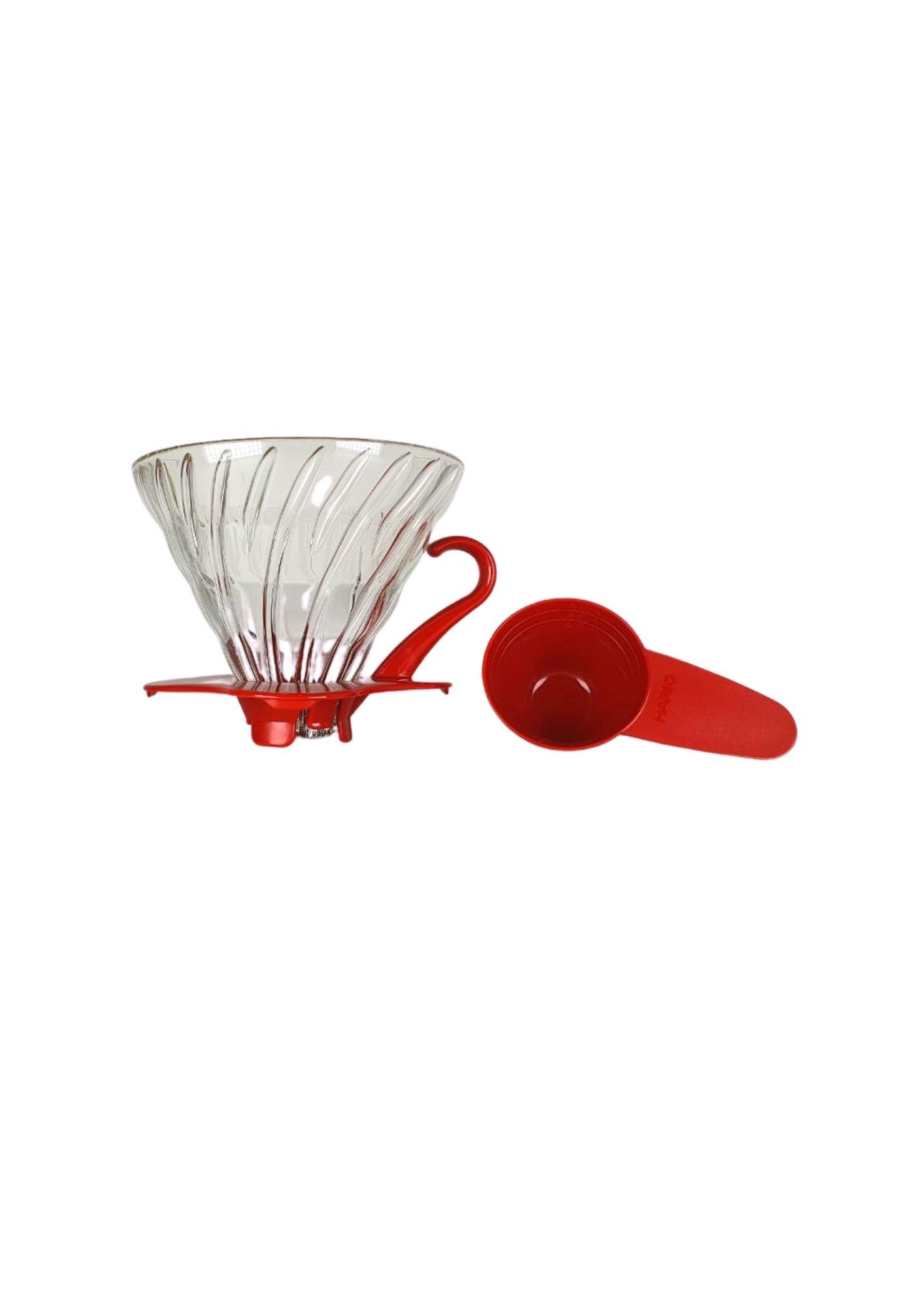 HARIO COADOR CAFE V60 02 VDG-02 RED