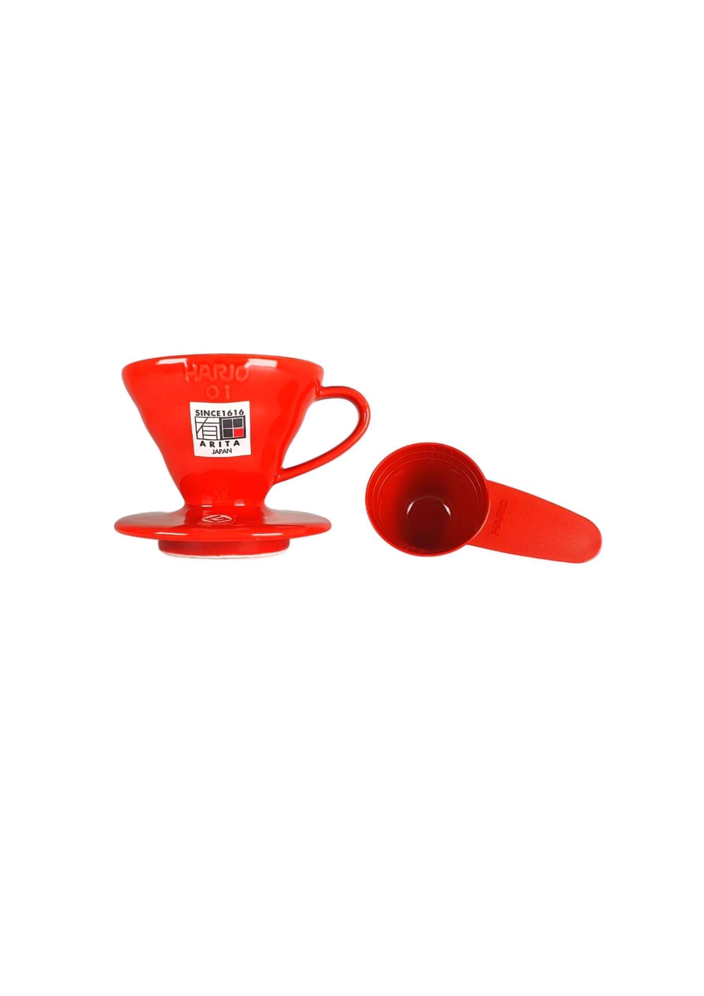 HARIO COADOR DE CAFE V60 01 VDC-01 RED