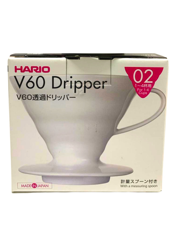 HARIO COADOR DE CAFE V60 02 VDC-02 WHITE