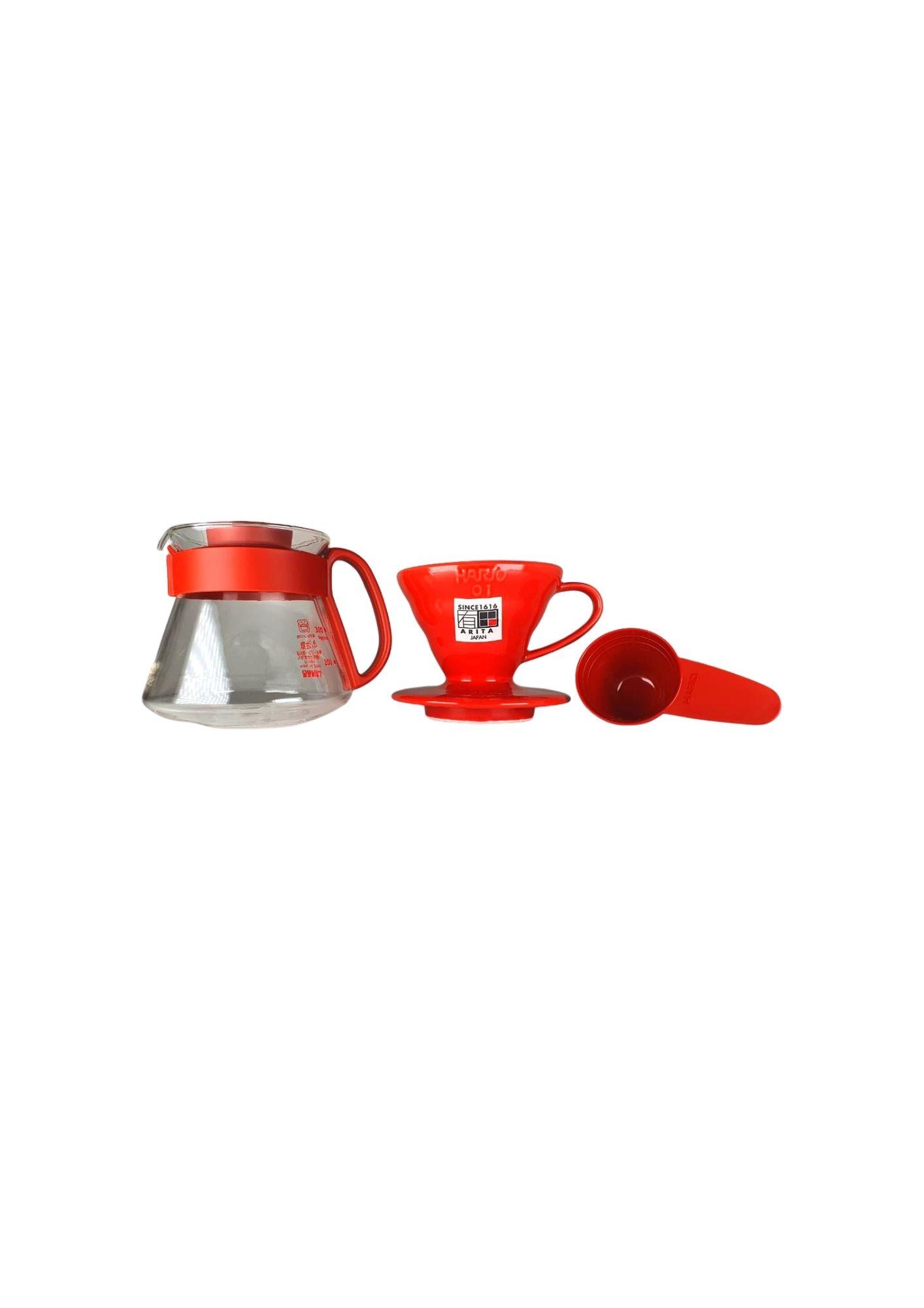 HARIO KIT V60 VDS-3012 RED